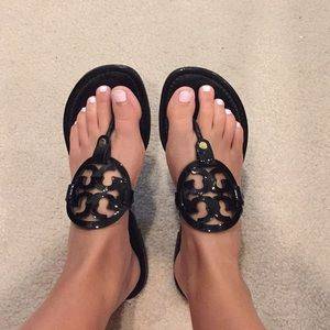 Tory Burch Glossy Sandals